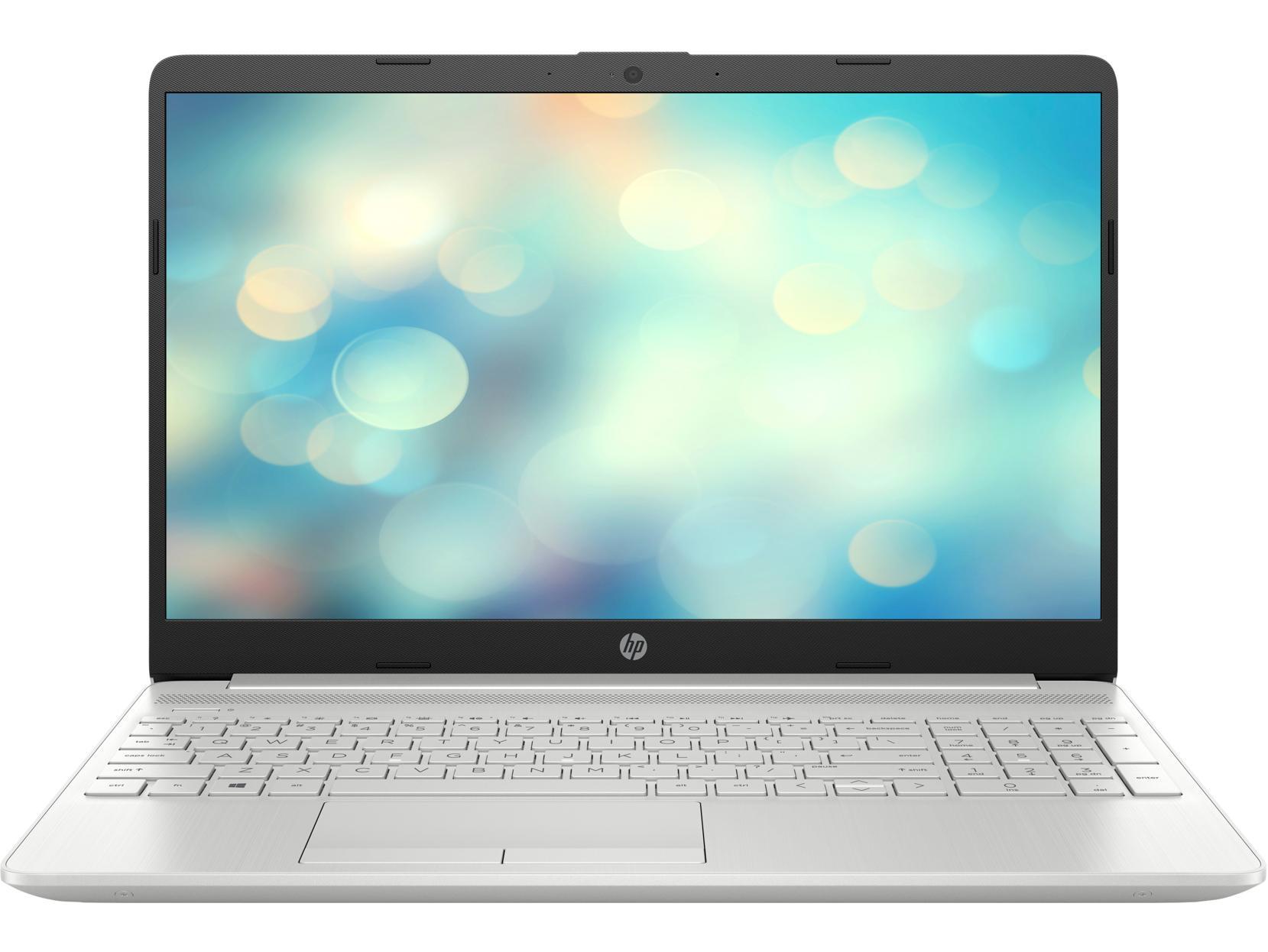 """Laptop HP 15s-du0041TX (Core i7-8565U/1.80 GHz/8MB/8GB RAM DDR4/1TB HDD/DVDRW/NVIDIA GeForce MX130 2GB/15.6"""" HD/Win 10 Home 64/Silver/1Y WTY_6ZF66PA - Hàng Chính Hãng"""