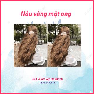 Thuốc nhuộm tóc Nâu vàng mật ong không tẩy dành cho cả nam và nữ thumbnail