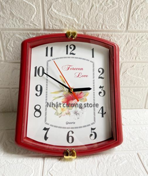 [Giá rẻ]Đồng hồ treo tường mẫu hoa văn hoạt hình cổ điển kim giật- mẫu đẹp ( giao mẫu ngẫu nhiên)