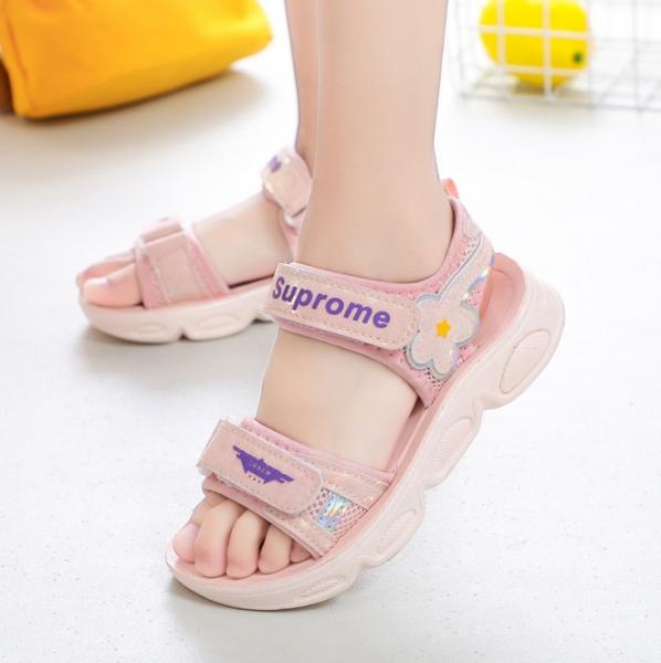 Giá bán Sandal bé gái - giày sandal đi học cho bé gái ( Mẫu mới nhất ) GGS56