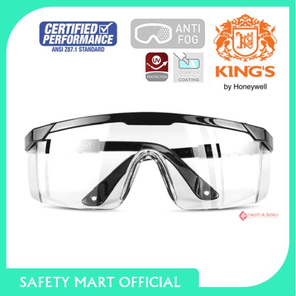 Giá bán Kính bảo hộ Vuông Kings KY151 trong suốt, chống bụi bảo vệ mắt