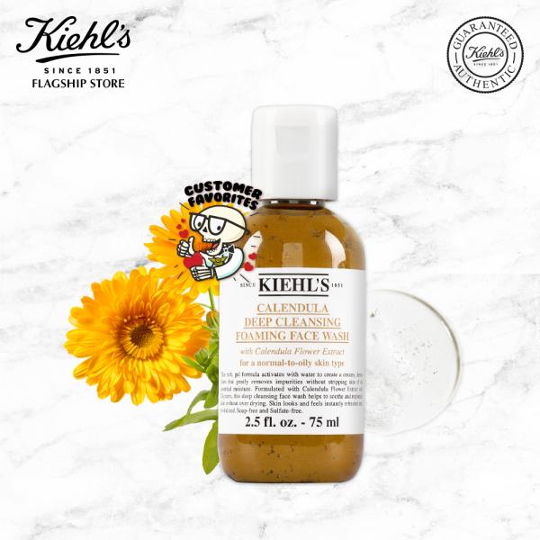 Sữa Rửa Mặt Hoa Cúc Kiehls Calendula Deep Cleansing Foaming Face Wash 75ML
