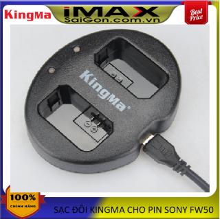 Sạc đôi máy ảnh Kingma cho Sony NP-FW50 thumbnail