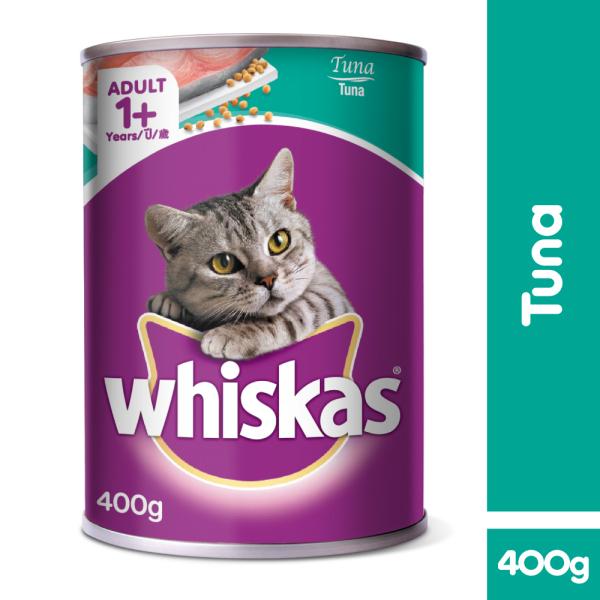 Thức ăn mèo Whiskas vị cá ngừ 400g