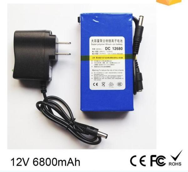 Pin lithium công suất lớn 12V 6800mah + SẠC