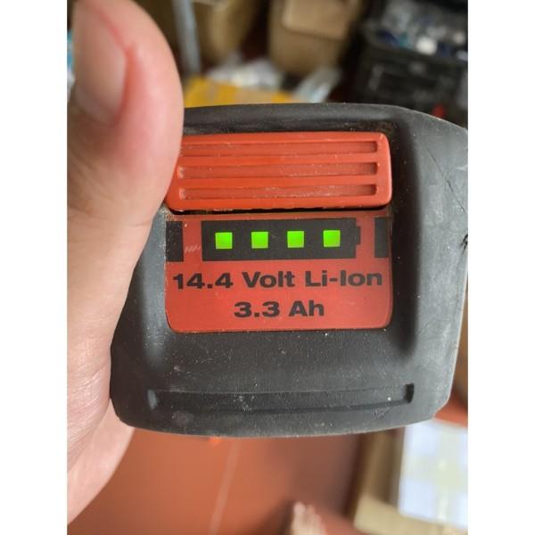 Pin Zin Li-Ion Hilti 14.4V 3.3Ah.