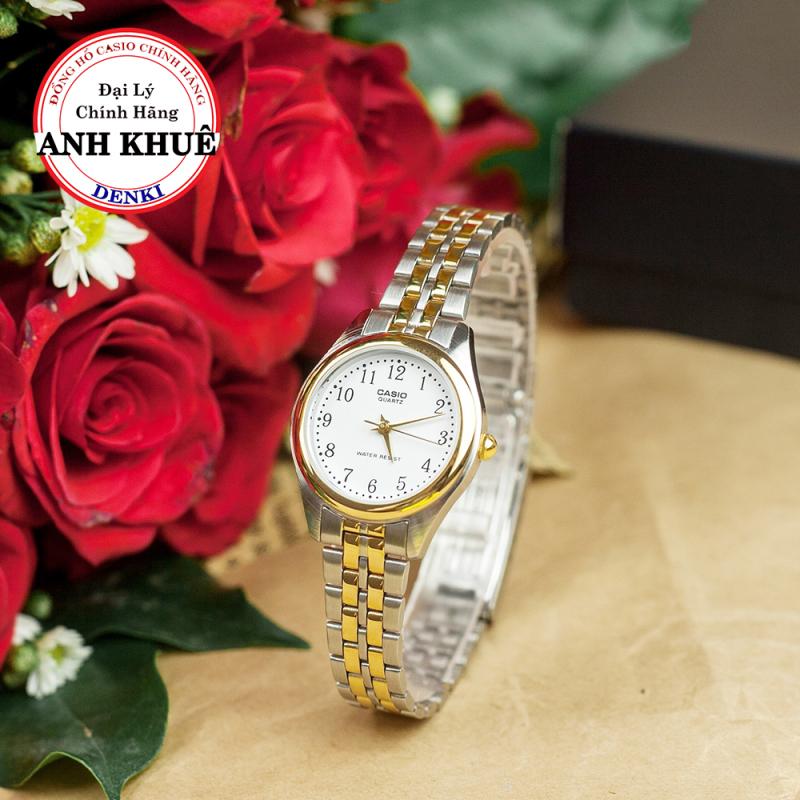 [CAO CẤP] Đồng hồ nữ dây kim loại Casio Standard LTP-1129G-7BRDF chính hãng Anh Khuê