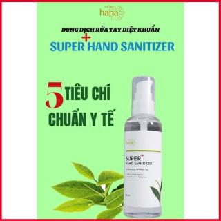 Nước Rửa Tay Khô Kháng Khuẩn Hara white Riori Super Hand Sanitizer 100ml thumbnail