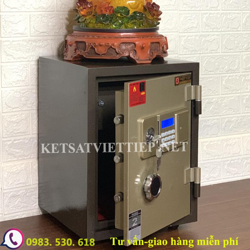 [CHINH HANG] Két sắt Việt Tiệp chống cháy VD88E(điện tử báo động)-50kg