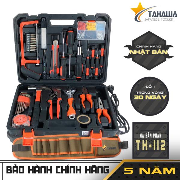 [ Bảo Hành Chính Hãng 5 Năm ] Bộ dụng cụ đa năng gia đình chính hãng  TAHAWA Nhật Bản TH112