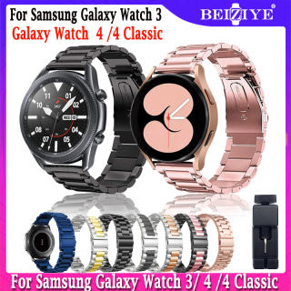 Dây đeo bằng thép không gỉ 22mm 20mm Đối với Samsung Galaxy Watch 4 4 Classic thay thế cho đồng hồ thông minh Samsung Galaxy Watch 3 45mm 41mm Beiziye - INTL thumbnail