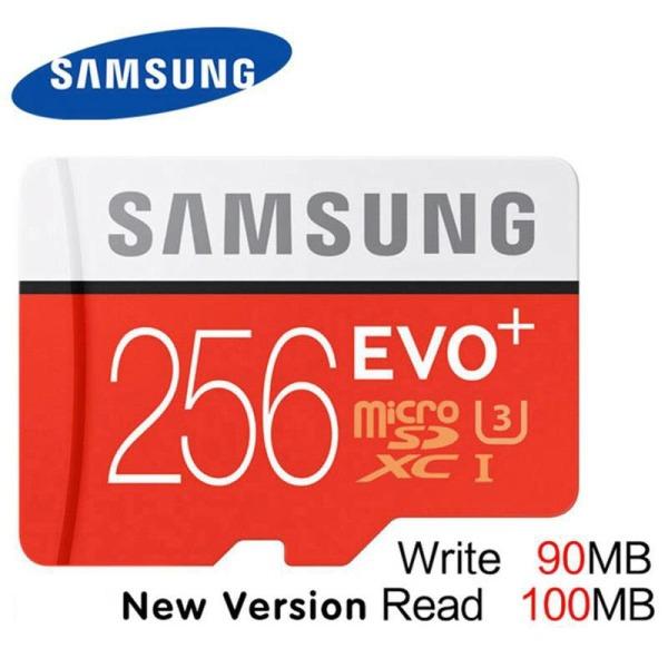 [Hàng Mới Về] Thẻ nhớ MicroSDXC Samsung Evo Plus 256GB U3 4K R100MB/s W60MB/s - Box Hoa New Kèm Adapter New 2021