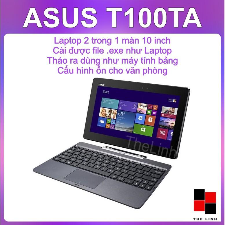 Laptop 2 trong 1 ASUS Transformer Book T100TA - HDMI, Win 8.1 đầy đủ