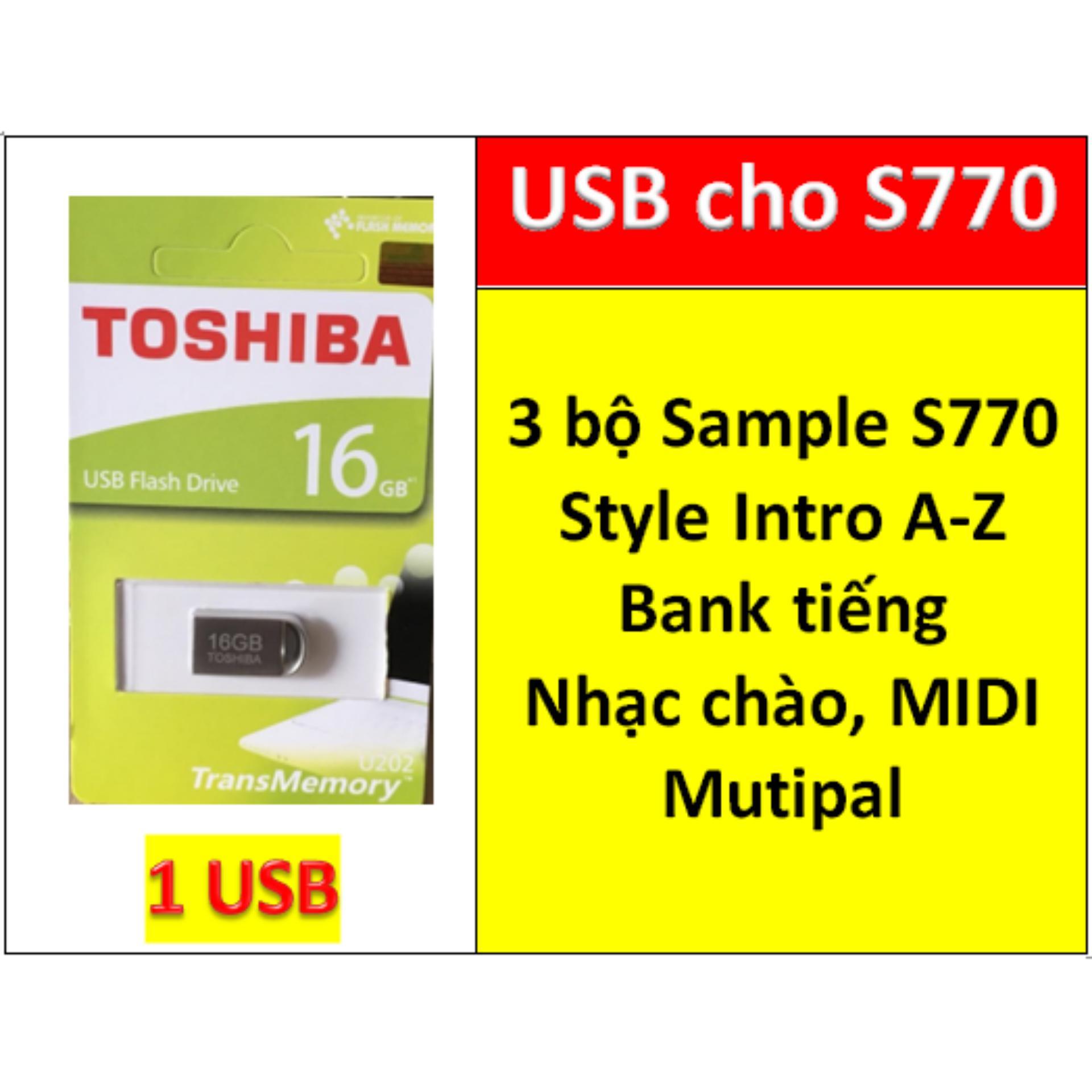 USB mini 3 BỘ Sample cho đàn organ yamaha PSR S770, Style, nhạc chào, songbook, midi + Full dữ liệu làm show