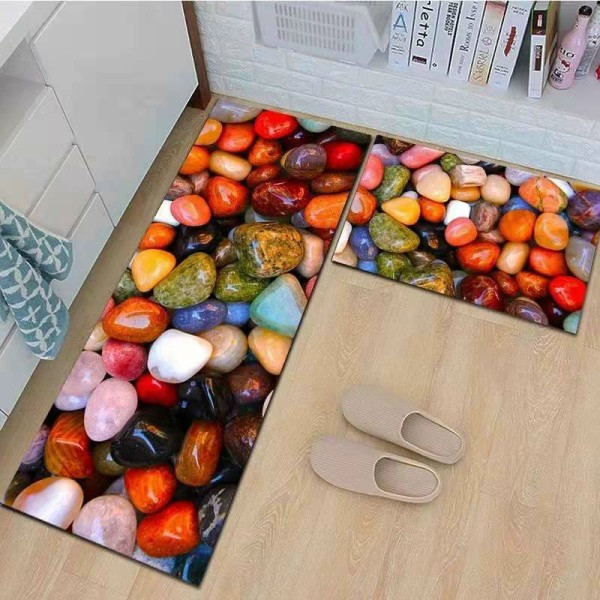 Thảm bếp chống trơn hoa văn hiện đại [Giảm Giá Xả hàng] bà béo Bedding mẫu 2020
