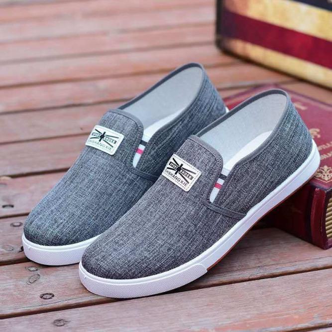 Giày lười vải nam Sport Shoes kiểu dáng đơn giản thoáng khí giá rẻ