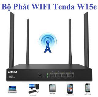 Bộ Phát WIFI Tenda W15e Ac1200mps Mạng Doanh Nghiệp 50 User Cao Cấp, Có đến 4 Ăng-ten thu được cao. Nâng Cấp Hiệu Suất Mới, Mạng Doanh Nghiệp Phong Cách Chuyên Nghiệp. thumbnail