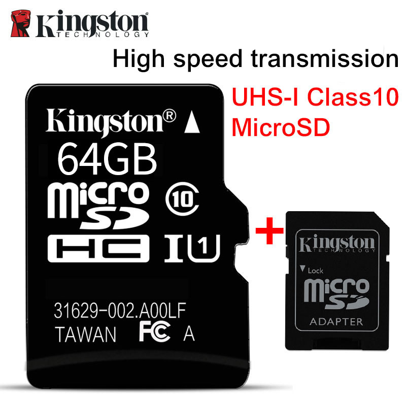 Thẻ nhớ Kingston Micro SDHC Class10 64GB