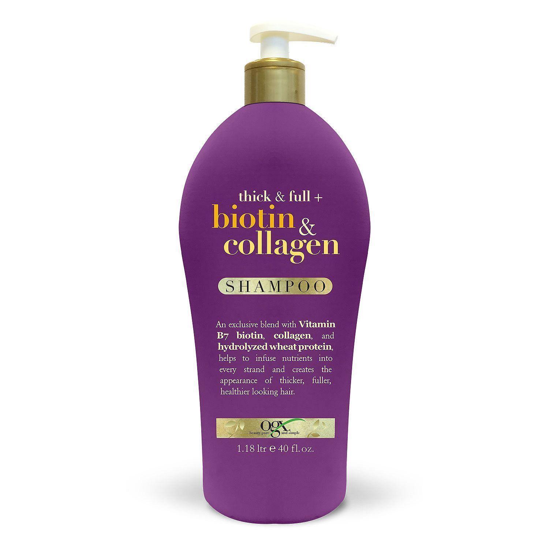 Dầu gội trị rụng tóc OGX Biotin & Collagen 1.18L nhập khẩu