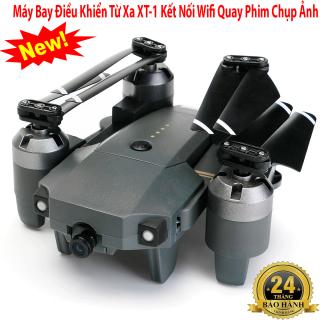 Fly cam tốt, Máy bay điều khiển từ xa XT-1 kết nối Wifi quay phim chụp ảnh Full HD 1080P, có thể chụp selfie. Bảo hành toàn quốc 1 đổi 1 thumbnail
