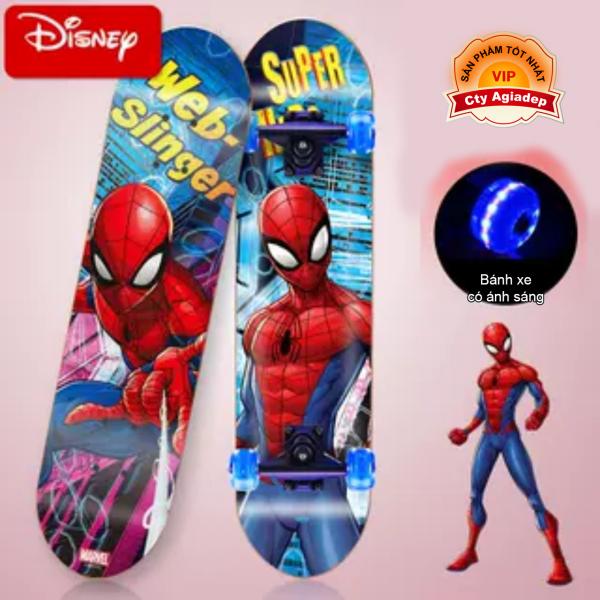 Mua Siêu ván trượt trẻ em cao cấp USA bánh xe ánh sáng Dispney Spiderman - Người nhện
