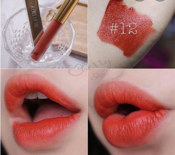 Son kem Bbia Last Velvet Lip Tint Version 3 tốt nhất