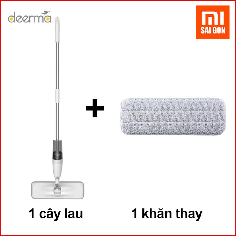 Cây lau nhà Deerma Xiaomi cao cấp ( 2 in 1) TB500