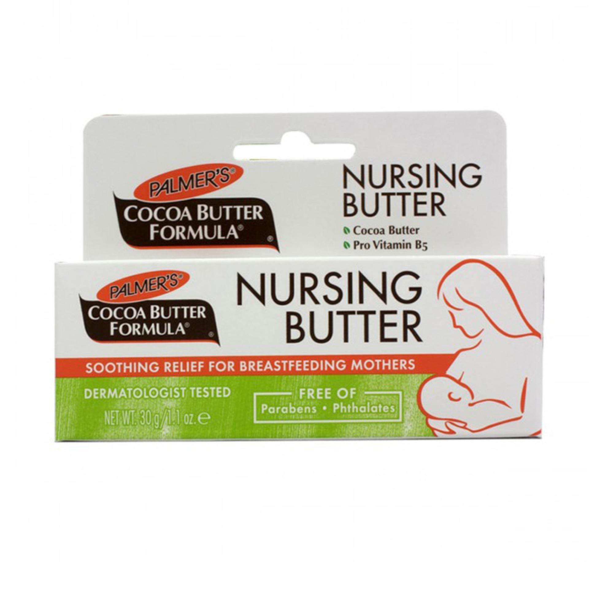 Kem ngăn ngừa nứt nẻ đầu ngực khi cho con bú Nursing Butter - Palmers tốt nhất