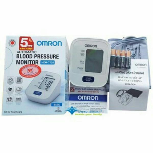Máy đo huyết áp bắp tay omron hem-7120 ( bh 05 năm), sản phẩm đa dạng, chất lượng tốt, đảm bảo an toàn sức khỏe người sử dụng bán chạy