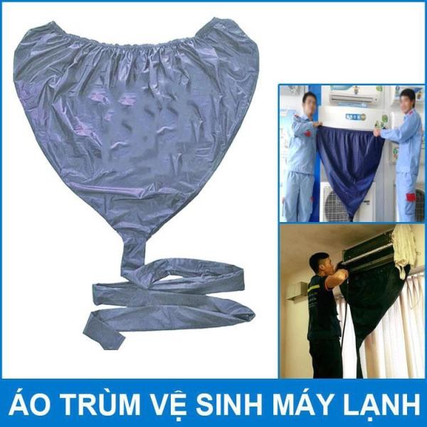 Túi bạt áo vệ sinh bảo dưỡng điều hòa máy lạnh có đuôi dài 2,5 mét -