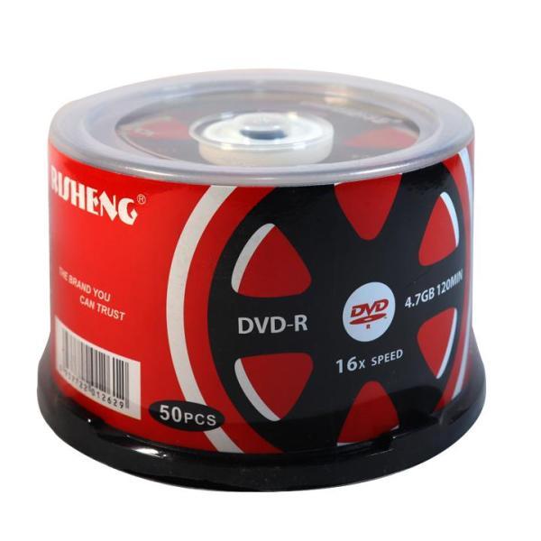 Bảng giá Đĩa dvd trắng ,Đĩa trắng DVD Risheng bánh xe 1 lốc 50 cái 4.7G hộp box Phong Vũ