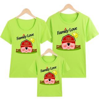 Áo Thun Gia Đình in hình Family Love EGDM33 Thương Hiệu Elsa thumbnail