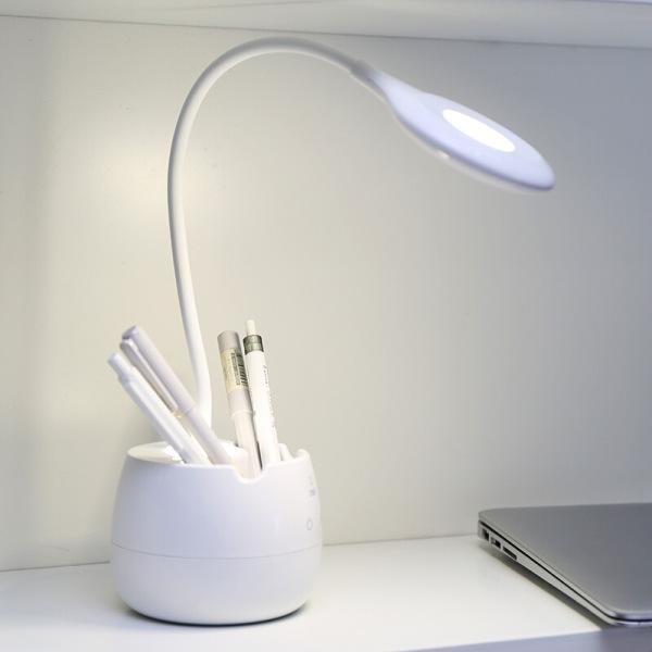 Bảng giá Đèn học để bàn, đèn học bài cảm ứng chống cận thị, Đèn học có khe cắm bút, điện thoại siêu tiện lợi