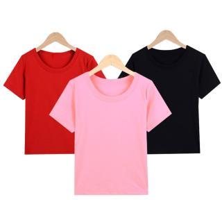 Bộ 3 áo thun nữ trơn vải dày mịn Hàn Quốc thương hiệu Elsa thumbnail