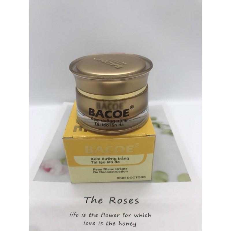 Kem Bacoe dưỡng trắng tái tạo mờ nếp nhăn