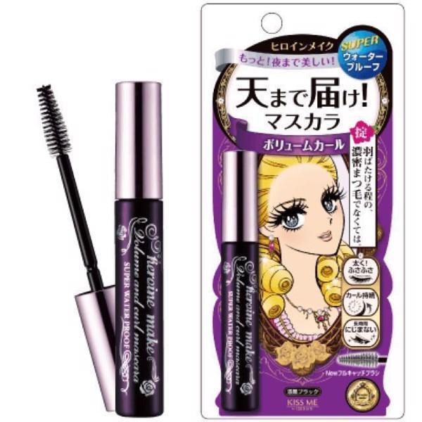Mascara Kiss me Heroine Nhật Bản Chống trôi nước giúp dài mi