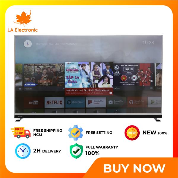 Bảng giá [GIAO HÀNG 2 - 15 NGÀY, TRỄ NHẤT 30.08] [Trả góp 0%]Installment 0% - Smart TV Toshiba 65 inch 65U9750 4K Android