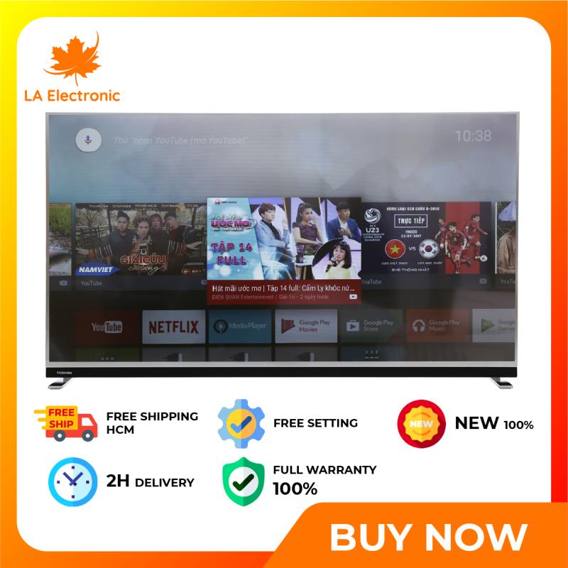 Bảng giá Android TV Toshiba 4K 49 inch 49U9750, thiết kế thông minh, công nghệ hiện đại, hoạt động mạnh mẽ và bền bỉ, có chế độ bảo hành và xuất xứ rõ ràng