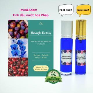 [lăn xịt 10ml] Tinh dầu nước hoa Pháp Midnight Fantasy - tinh dầu nước hoa mini nữ dạng lăn, dạng xịt, tinh dầu nước hoa pháp chiết - evA&Adam thumbnail