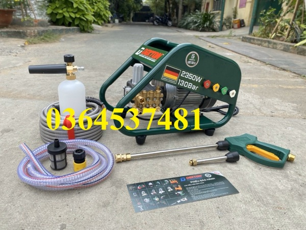 Máy xịt rửa công nghiệp  DEKTON DK-HPW2350