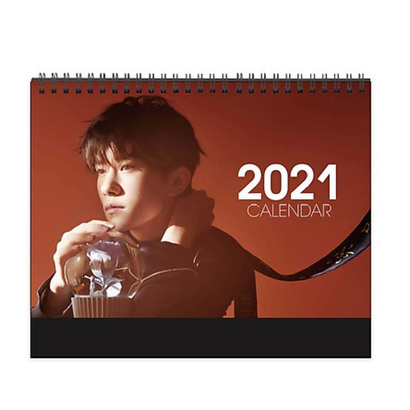 Lịch Dịch Dương Thiên Tỉ Tfboys 2021 lịch để bàn