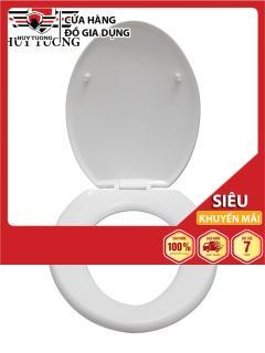 Bộ nắp bàn cầu nhà vệ sinh bằng nhựa cao cấp, thích hợp sử dụng với nhiều loại bồn cầu - Trung Kiên thumbnail