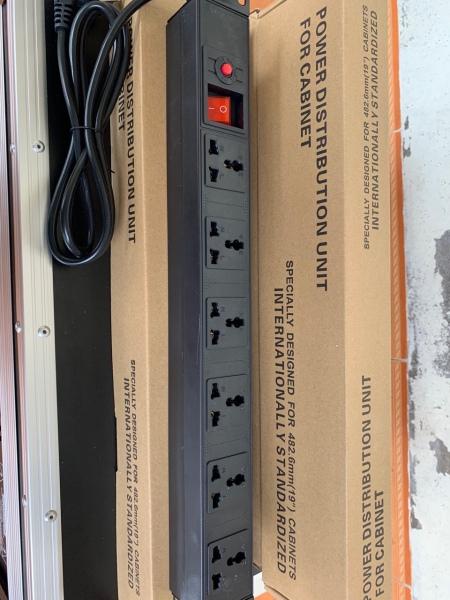 Ổ CẮM ĐA NĂNG 6 Ổ PDU 10A ( ổ cắm cho tủ rack)