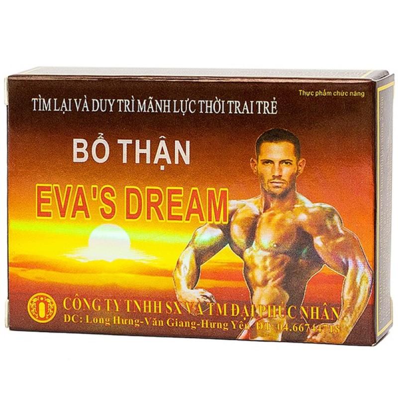 Bổ thận Evas Dream - bản lĩnh phái mạnh, bổ thận tráng dương, tăng cường sinh lý ( hộp 4 viên)