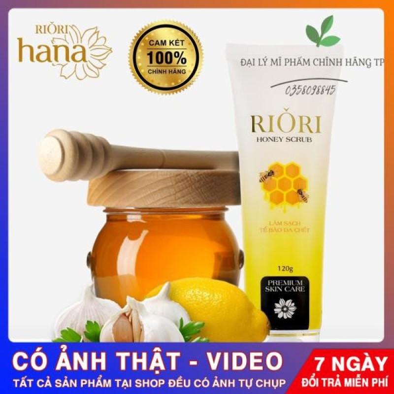 Tẩy Da Chết RIORI Honey Scrub Loại Bỏ Sắc Tố Đen Trên Da,Làm Sáng Da.Để Kem Dưỡng Da Hấp Thụ Tốt giá rẻ