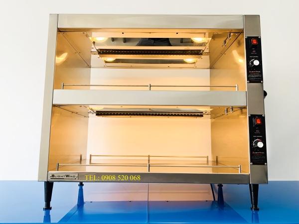 Tủ trưng bày giữ nóng cá viên chiên - SWHB