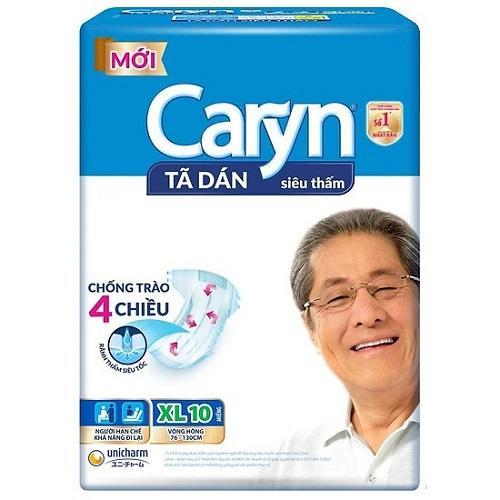 Tã dán người lớn Caryn XL10: miếng chính hãng