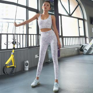 Bộ Đồ Tập Gym Yoga Nữ Phôi Vân Trắng Tím Ry75 thumbnail