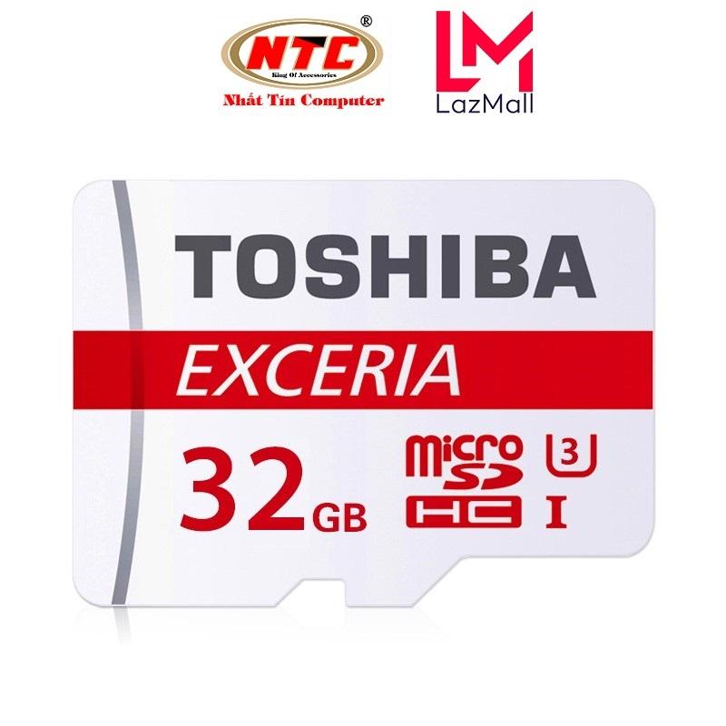 Thẻ nhớ MicroSDXC Toshiba Exceria M302 32GB U3 4K 90MB/s - Không Box (Đỏ)