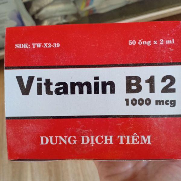 vitamin b12 - 1 hộp 50ống